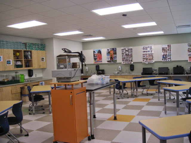 Proper furniture selection and organization adds to a positive classroom environement. http://allkidscanlearn.school.blog