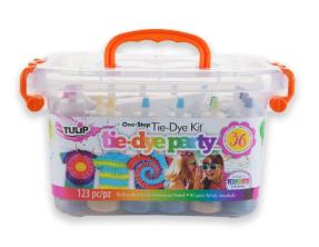 http://allkidscanlearn.school.blog Tulip One-step Tie-Dye Party Kit